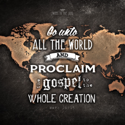 Gambar: Proclaim the gospel