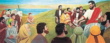 Gambar: Yesus mengajar