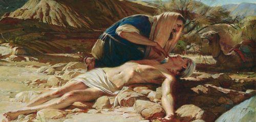 Gambar: Orang Samaria yang murah hati