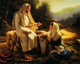 Gambar: Yesus dan Perempuan Samaria