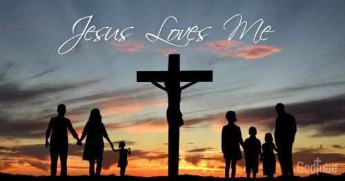 Gambar: Yesus mengasihimu
