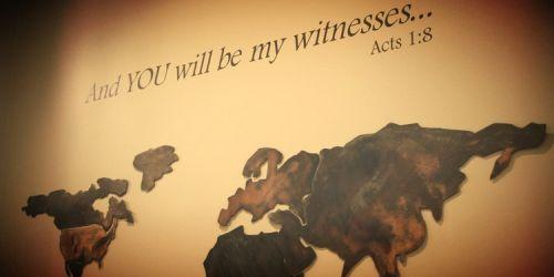 Gambar: Menjadi saksi Kristus