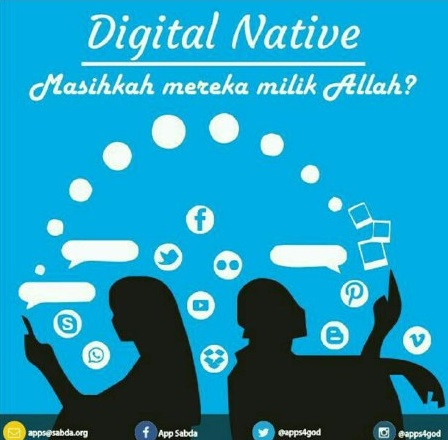 Digital natives milik Kristus