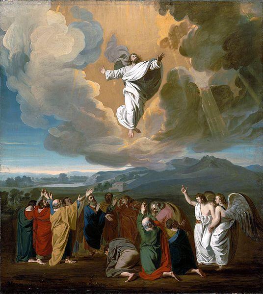 Gambar: Kenaikan Yesus