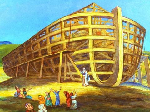 Kapal Nuh.