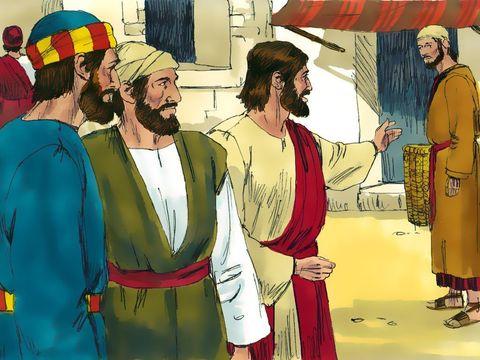 Yesus memanggil murid-murid-Nya