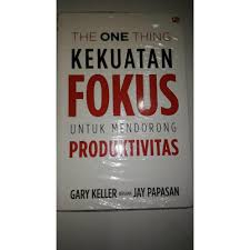 Gambar: Buku The One Thing