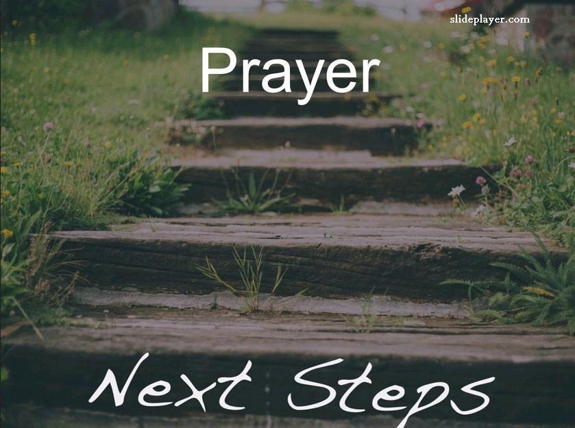 Doa sebagai langkah penting