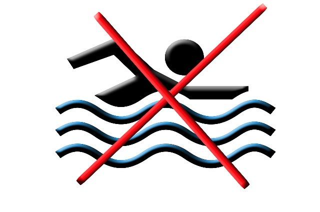 Gambar: Dilarang Berenang