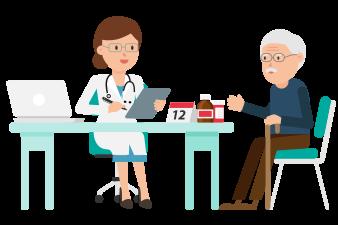 Gambar: Dokter dan Pasien
