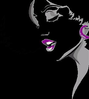 Gambar: Wanita Menyanyi