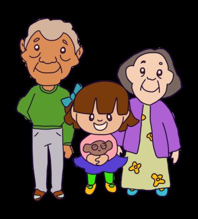 Gambar: Kakek dan Cucu