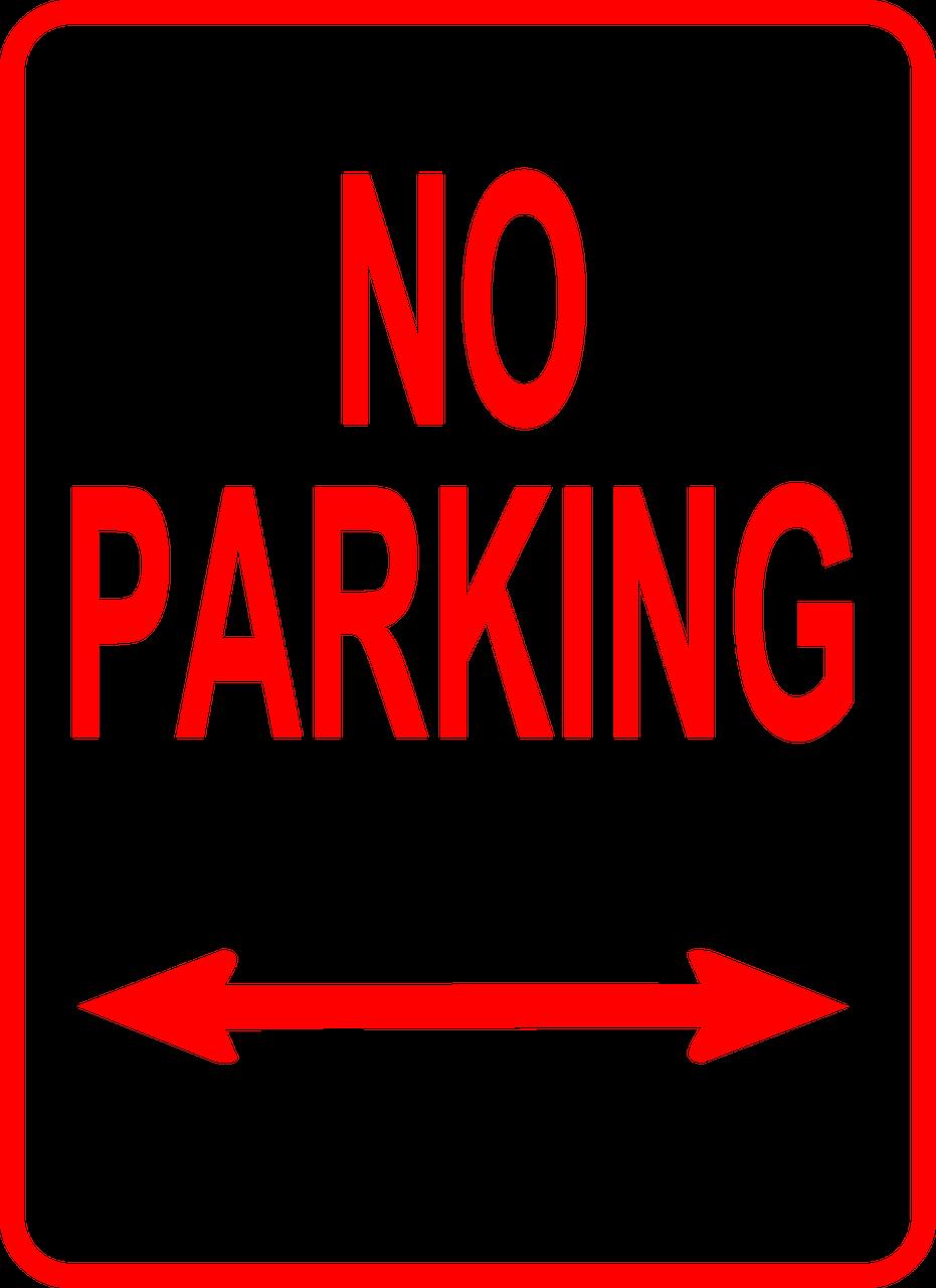 Gambar: Dilarang Parkir