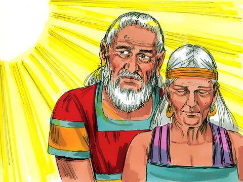 Gambar: Abraham dan Sara