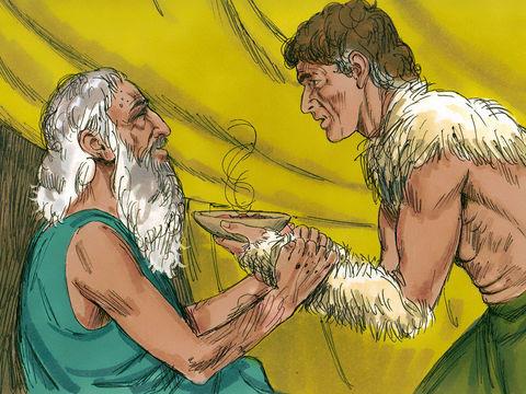 Gambar: Ishak dan Yakub