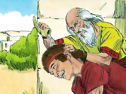 Samuel mengurapi Daud