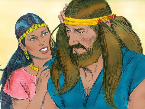 Gambar: Simson dan Delila