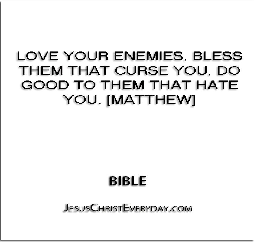 Kasihilah Musuhmu