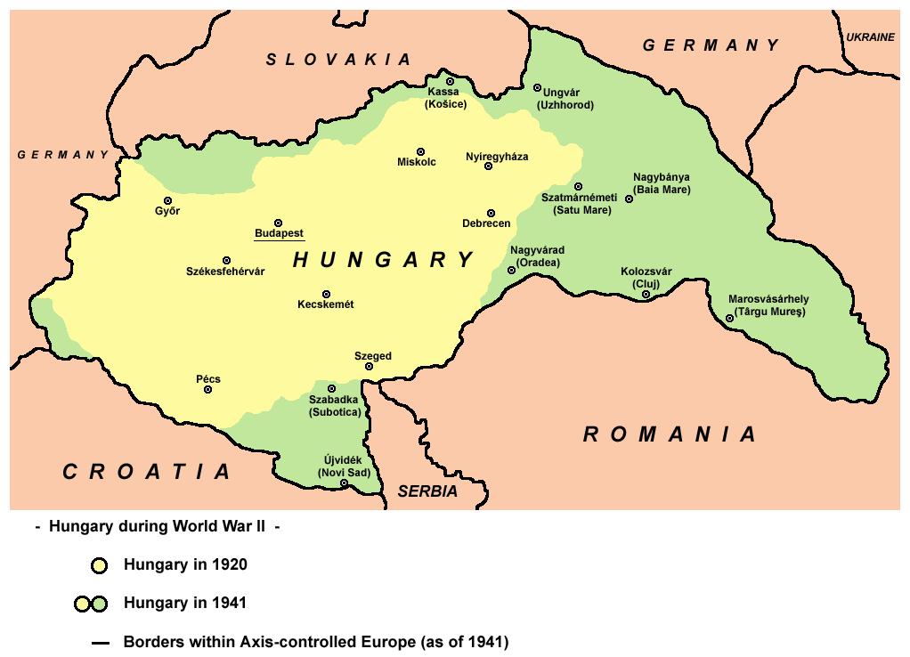 Gambar: Peta Hongaria