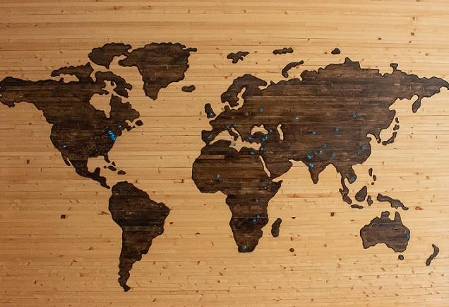 Gambar: Peta Dunia
