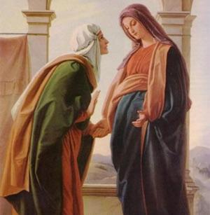 Gambar: Maria dan Elisabet