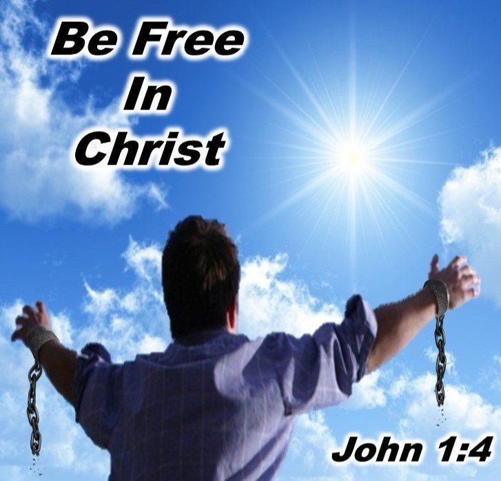 Be free in Christ