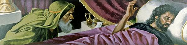 Raja Hizkia sakit