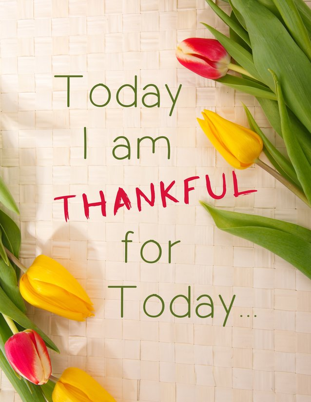 Bersyukur hari ini