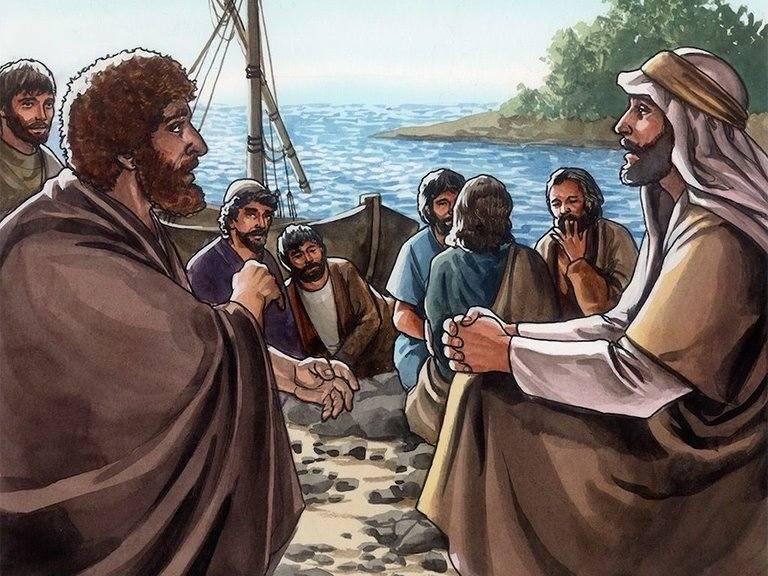 Yesus bertanya kepada Petrus