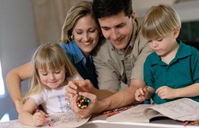 Gambar: Orang tua dan anak