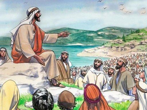Gambar: Khotbah di bukit
