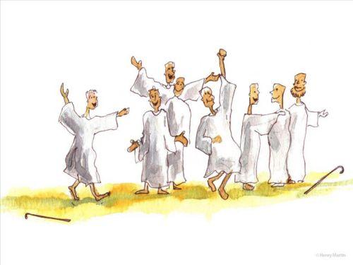 Gambar: sukacita orang benar