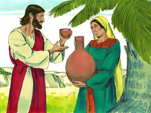 Wanita Samaria dan Yesus