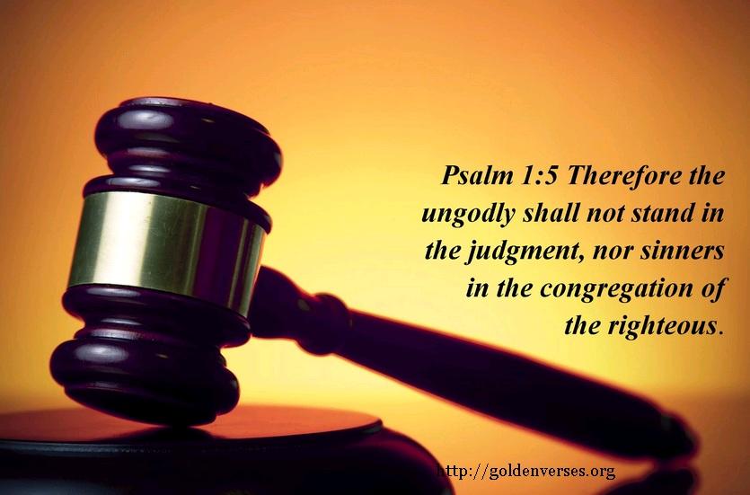 Gambar: Mazmur 1:5