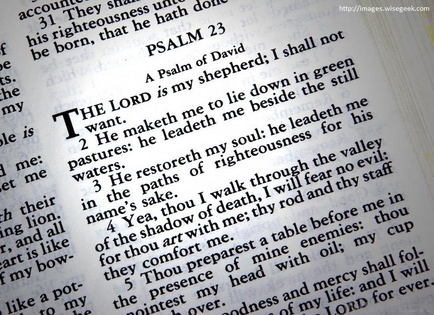 Gambar: Psalm
