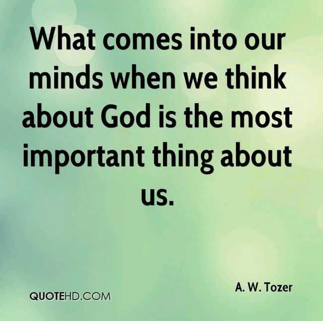 Gambar: A.W. Tozer's quote