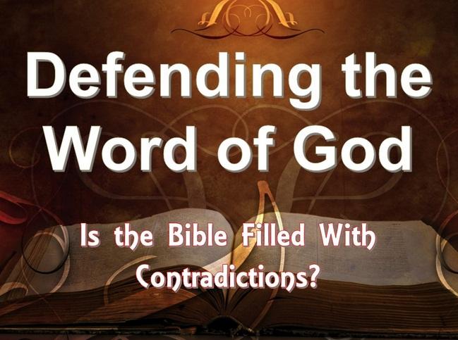Gambar: Kontradiksi Alkitab
