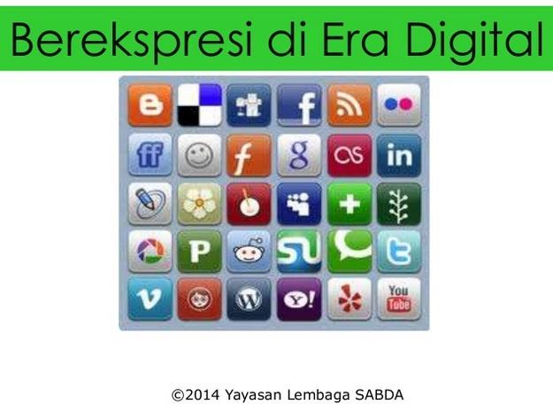 Gambar: Berekspresi pada Era Digital