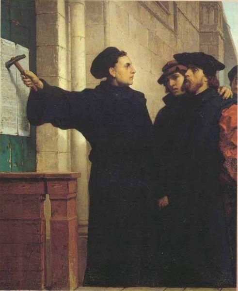 Gambar: 95 Tesis Martin Luther