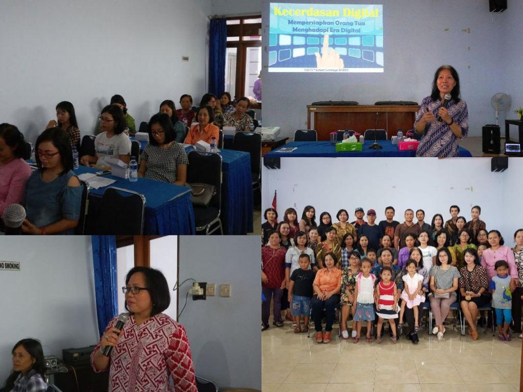 Seminar Parenting tentang Kecerdasan Digital di TK Kristen Sukoharjo