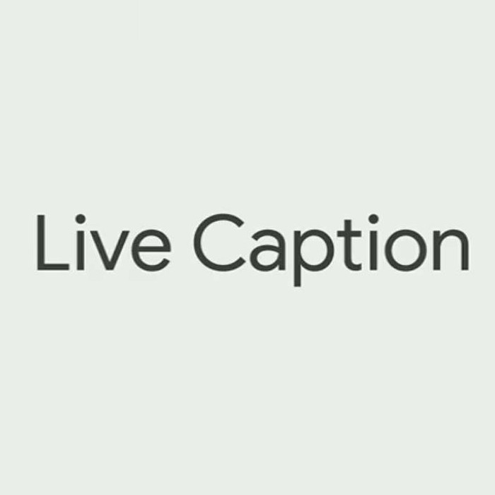 Live Caption di Android Q