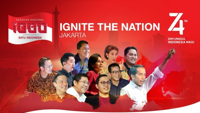 Gerakan Nasional 1.000 Startup Digital 2019: Ignite the Nation!
