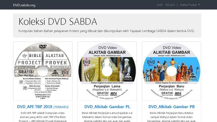 Situs DVD.sabda.org