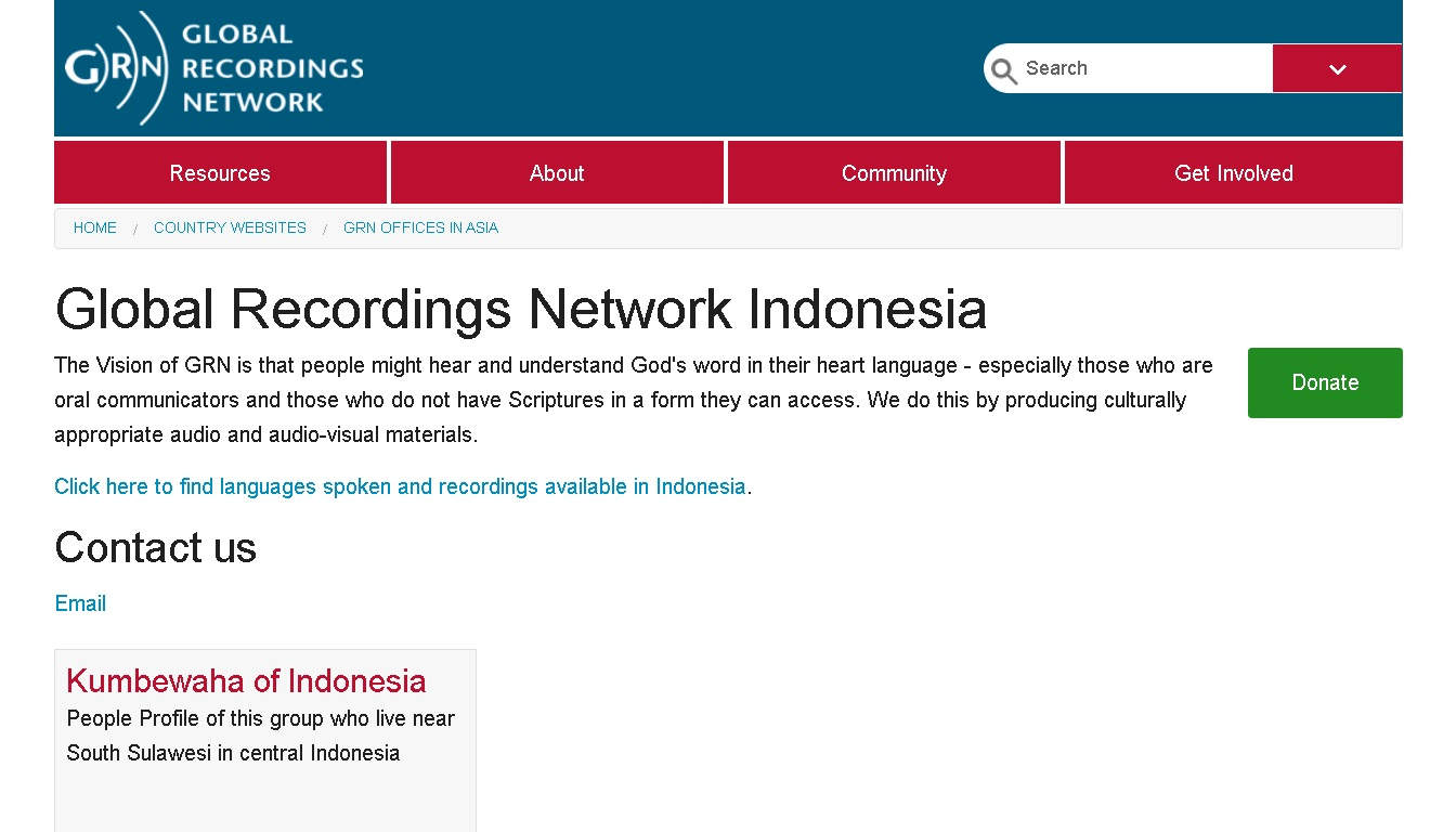 Situs Global Recordings Network Indonesia