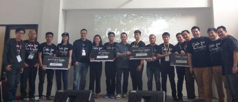 Proyek-Proyek Terbaik dalam C4TK Jakarta 2017