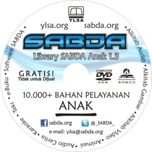 Sharing Penggunaan DVD Library SABDA Anak dalam Pelayanan Sekolah Minggu