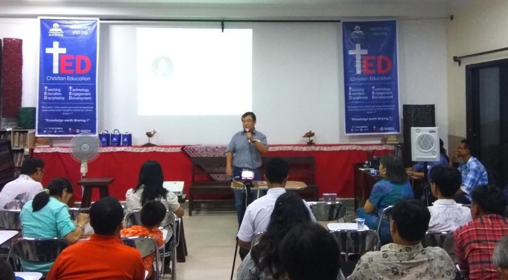 Menjangkau Melalui Multimedia dalam +TED @SABDA