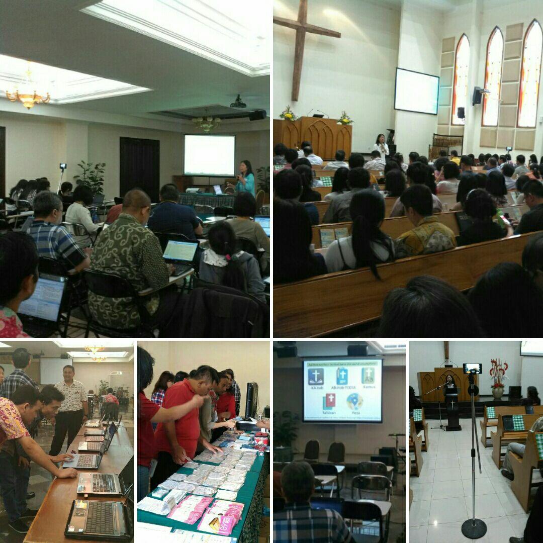 Pelayanan Digital Tim SABDA di Pulau Dewata (Gereja)