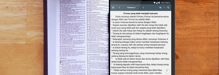 Alkitab Cetak atau Digital?