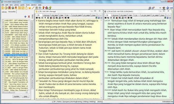 Software SABDA v5